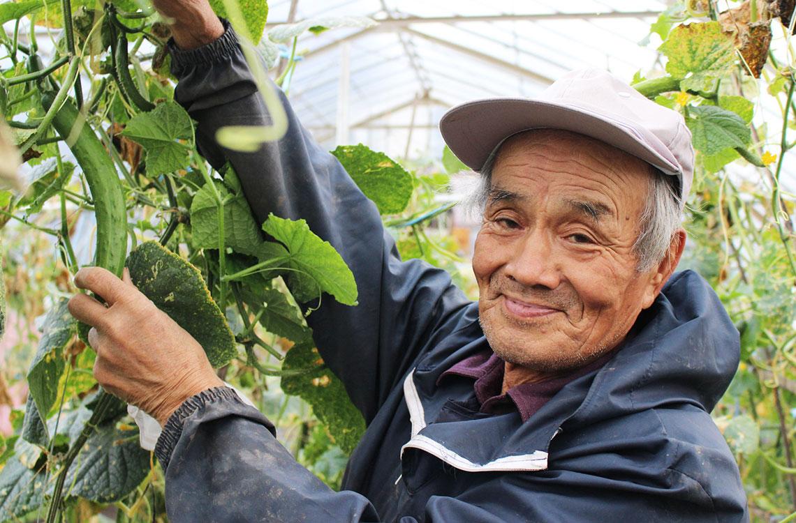 キラリ農家さん(男性)