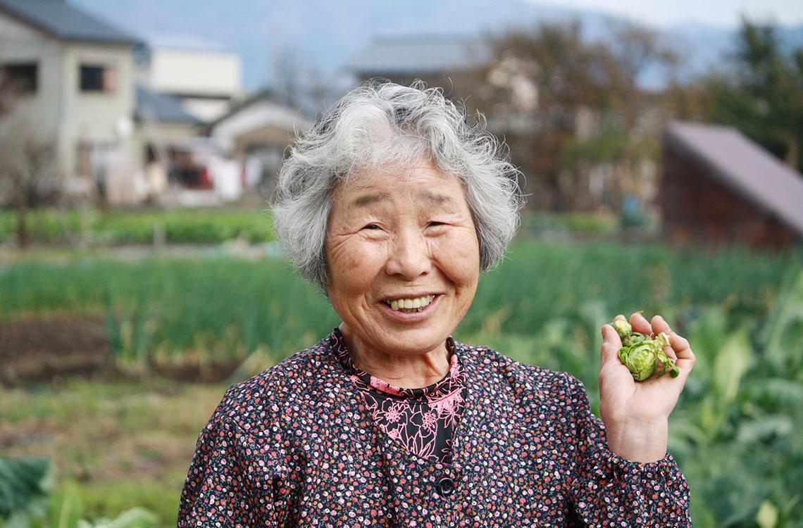 キラリ農家さん(女性)